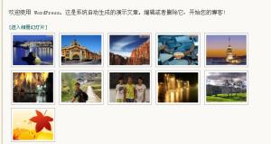 nextgen-gallery相册图片列表显示效果